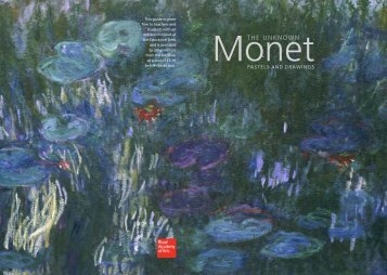 Introduction to the Unknown Monet - The Royal Academy of Arts