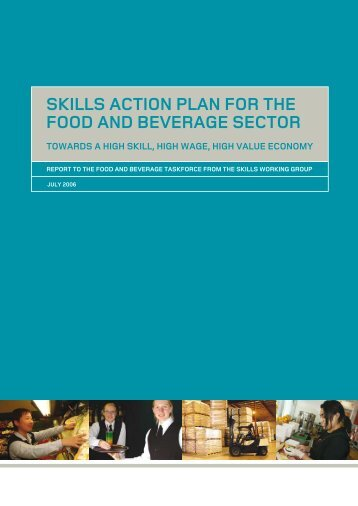 skills acTion Plan for The food and Beverage secTor - Department of ...