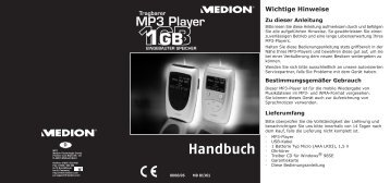 MD 81361 Mp3-Player - Medion
