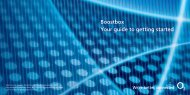 Boostbox Your guide to getting started