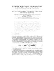 Application of Multivariate Maxwellian Mixture Model to Plasma ...