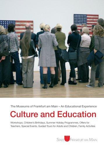 Culture and Education - KulturPortal Frankfurt