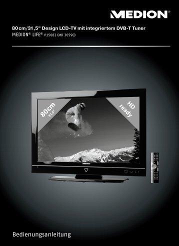LCD-TV ein - Medion