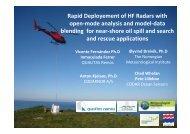 Rapid Deployement of HF Radars with open-mode analysis ... - ifremer