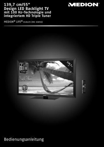 (SAT, DVB-T, Decoder etc.) anschließen - Medion