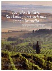 150 Jahre Italien - Schweizerische Weinzeitung