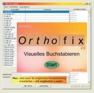 Orthofix Installationsanleitung - MediTECH Electronic GmbH