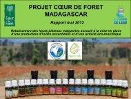Compte-rendu 1er semestre 2012 - Coeur de Forêt