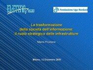 La trasformazione della società dell'informazione: il ruolo - Key4biz