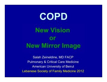 Updates and new Guidelines in COPD - Lsfm.net