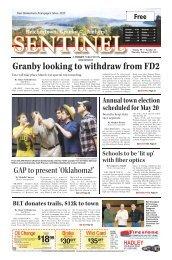 February 28, 2013 PDF Edition - The Sentinel