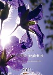 Betrachten Sie die Kalenderblätter: hier - Schirner Verlag