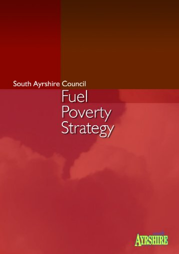 Fuel Poverty Strategy publication - South Ayrshire Council