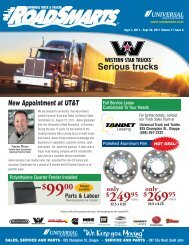 Serious trucks - Universal Truck & Trailer