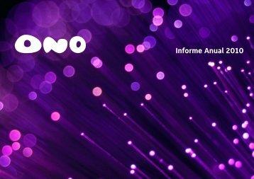 Informe Anual 2010 - Ono