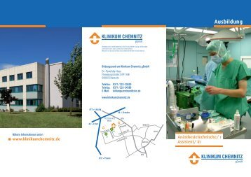 Download des Flyers ( 231 KB PDF Format ) - Klinikum Chemnitz