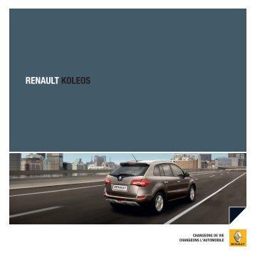 Brochure Koleos - Basty Automobiles