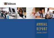 Annual Report 2006/2007 - Department of Education