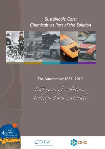 Sustainable Cars: Chemicals As Part Of The Solution