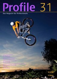 Das Magazin für Professionals - Canon Deutschland