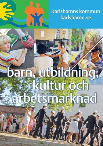 Broschyr om utbildningsförvaltningen - Karlshamn
