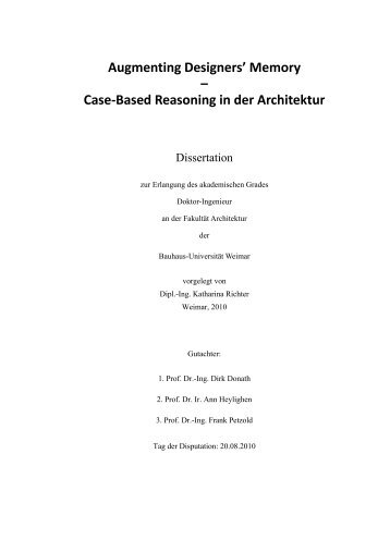 pdf-download - InfAR - Bauhaus-Universität Weimar