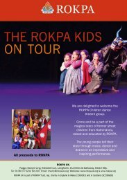 All proceeds to ROKPA