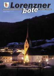 Lorenzner Bote - Ausgabe Januar 2008 (1,92 MB) (0 bytes)
