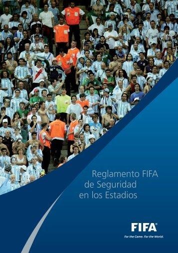 Reglamento FIFA de Seguridad en los Estadios - FIFA.com