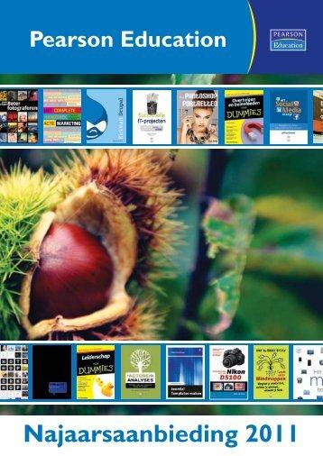 Najaarsaanbieding 2011 - Pearson Education