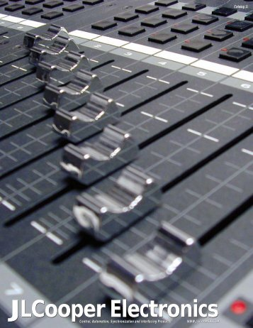 Jlcooper Electronics - CAM Computer Aided Magic Gmbh