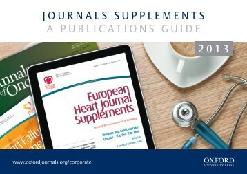 Supplement Publication Guide - Oxford Journals