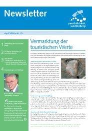 April 2006 - Region Werdenberg
