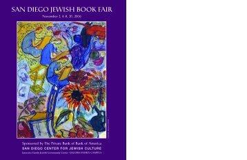 san diego jewish book fair - San Diego Center For Jewish Culture