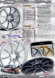 ARCASTING Racing Wheels - Jec Import SA