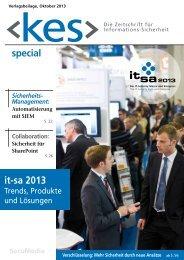 Special zur it-sa 2013 auch als PDF zum Download - kes