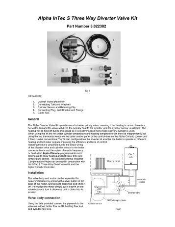 alpha intec 26c 30c 34c and 24x 28x alpha boilers alpha intec s three way diverter valve kit 29 7 11 alpha boilers