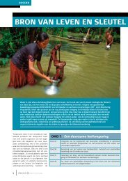 Dimensie 3: dossier 'Water, bron van leven' (PDF, 1.25 MB)