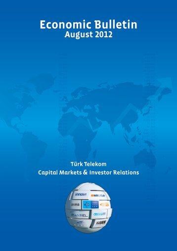 August 2012 - Türk Telekom Investor Relations