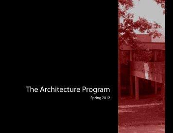Spring 2012 Semester Overview Presentation (PDF 3.7mb)