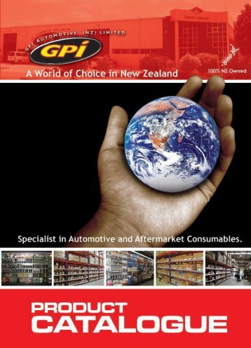 Download the latest GPI Catalogue - Smits Group