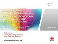 LTE technologies