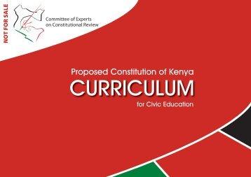COE - Civic Education Curriculum - ConstitutionNet