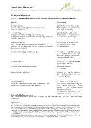 Urlaub und Absenzenregelung - Kreisschule Rheintal-Studenland