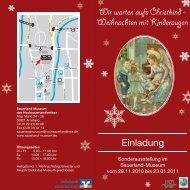 Weihnachten mit Kinderaugen - Sauerland-Museum