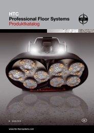 HTC Professional Floor Systems Produktkatalog