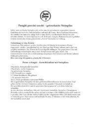 Funghi porcini secchi — getrocknete Steinpilze - Castel Cosimo