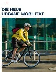 DIE NEUE URBANE MOBILItät - Vorarlberger Kraftwerke AG
