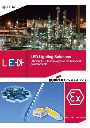 LED Lighting Solutions - Cooper Crouse-Hinds