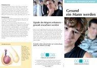 Folder: Gesund ein Mann werden